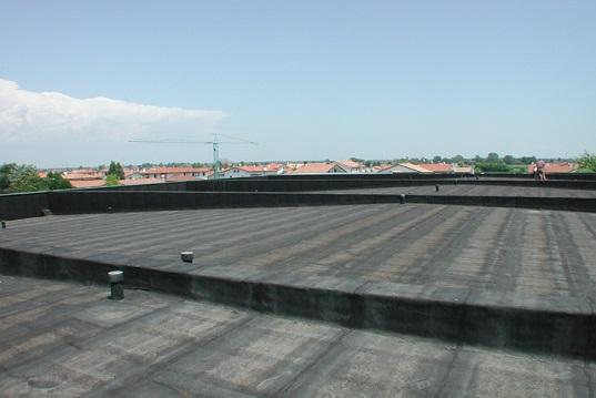 Coperture piane tetto caldo