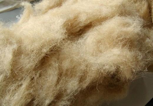 Pannello isolante in fibra di lino