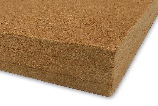 Pannello isolante in fibre di legno pressate