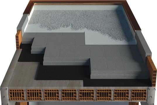 Coperture piane tetto rovescio