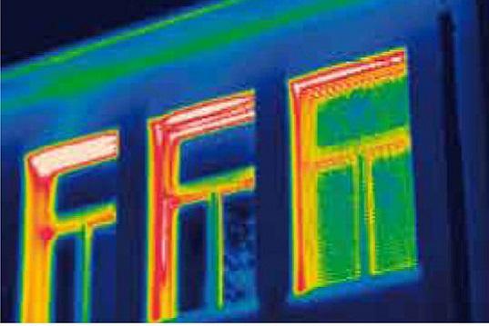 Trasmittanza termica in infissi e pareti
